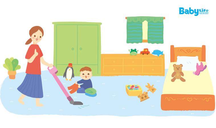 動手前必讀! 年終兒童房大掃除清潔6重點