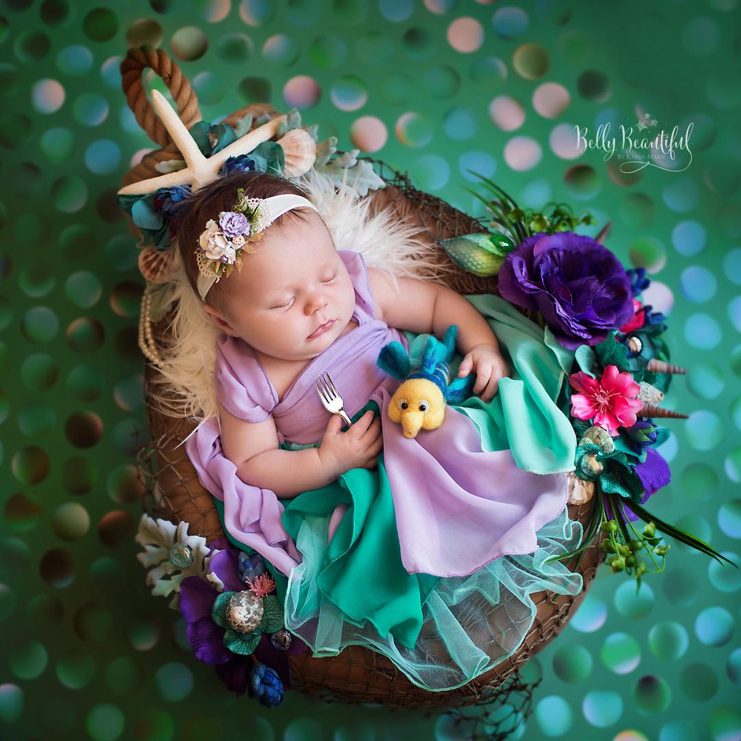 寶寶寫真:小美人魚-愛麗兒