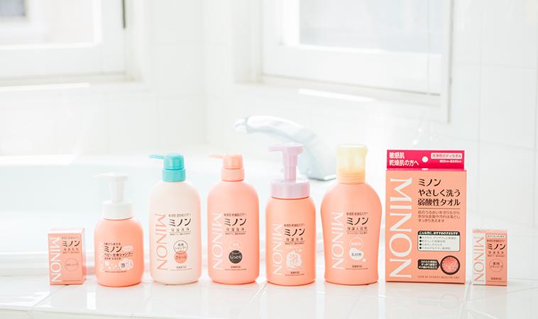 「日本限定」日本旅遊必買!敏弱、乾燥肌絕對不能錯過的MINON蜜濃保濕沐浴系列