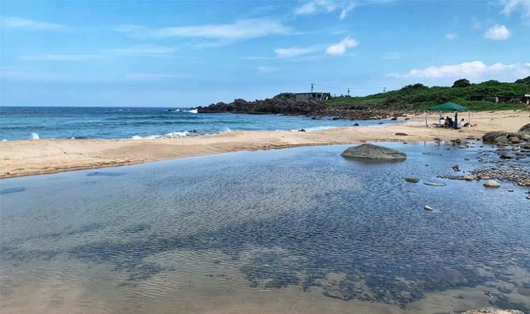 夏天就是要去海邊,金沙灣海濱公園