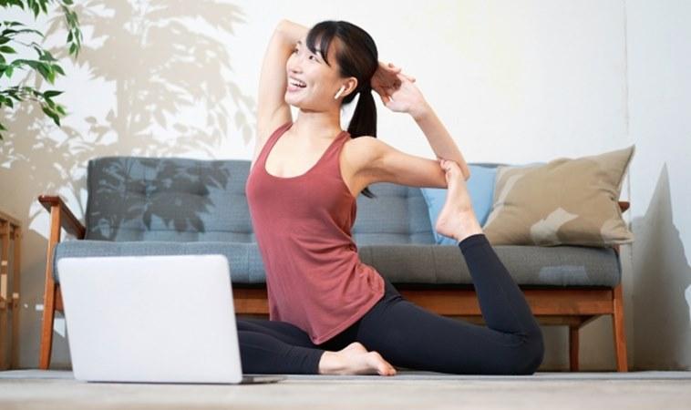 居家運動前,最好先「躺著呼吸」預防運動傷害?!