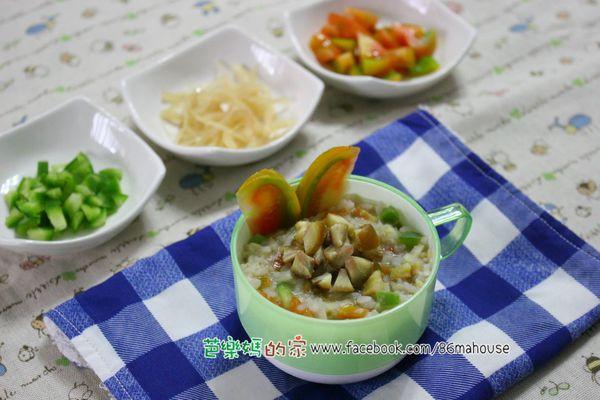 副食品分享──栗子番茄燉飯