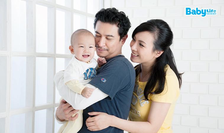 給孩子最好的禮物:一對恩愛的父母!