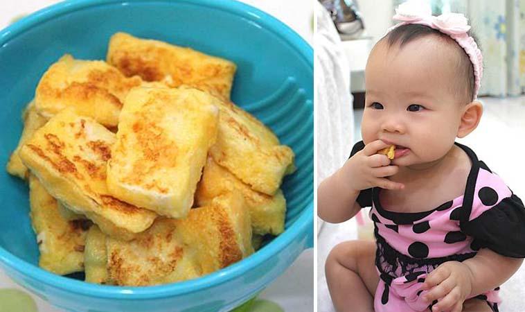 簡單6步驟,自製寶寶版法國吐司