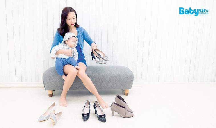 愛美不分身分,加強核心肌力!當了媽咪,就不能穿高跟鞋嗎?