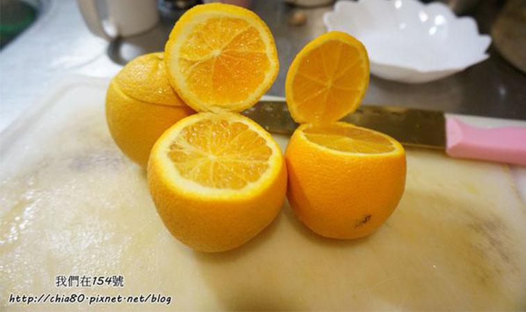 遠離咳嗽保養喉嚨,自製燉橙加鹽