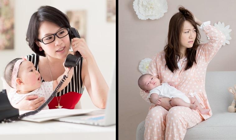 該當全職媽媽或上班媽媽?為何兩種媽媽一樣矛盾和內疚?