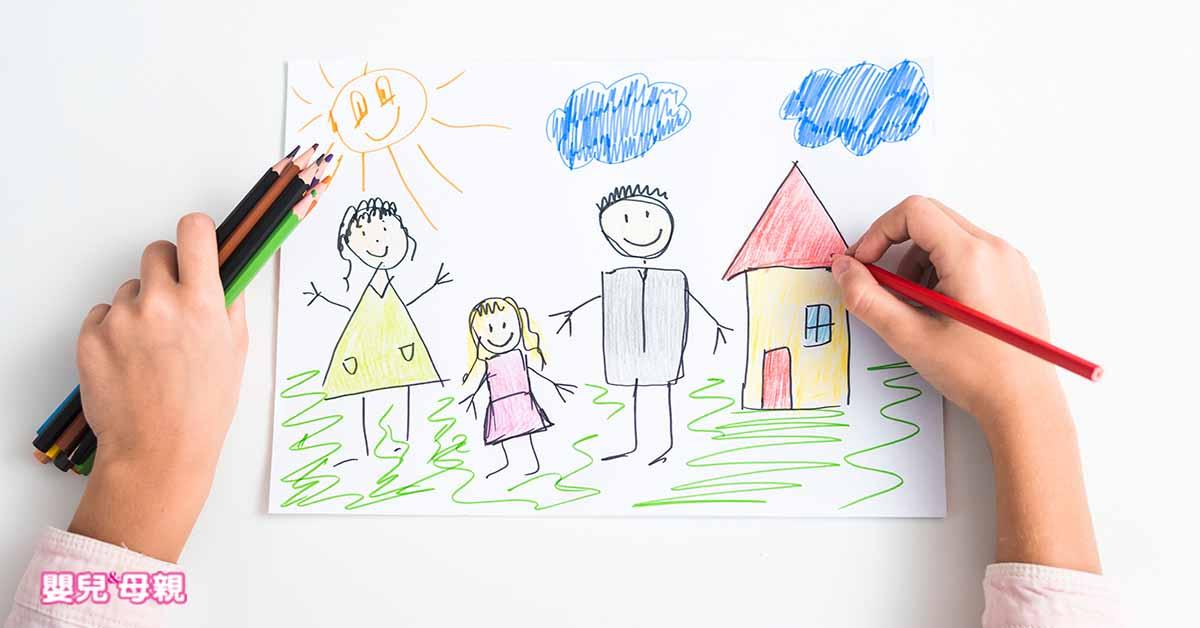 從「顏色」和「線條」,看懂孩子在想什麼!