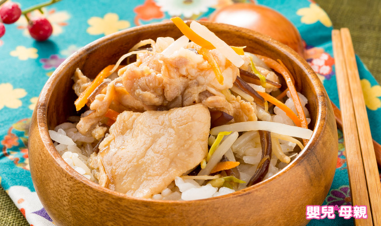 產後私房菜,味噌豆芽豬肉丼