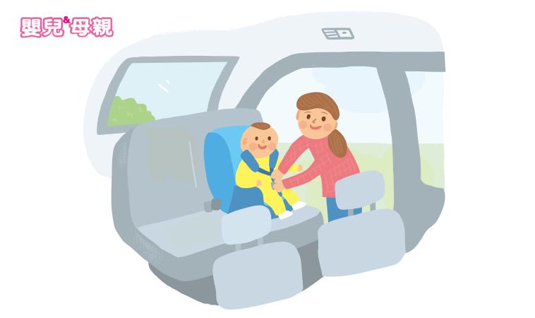 汽座放錯位置 寶寶送命機率恐大增!別再說「放旁邊沒關係」
