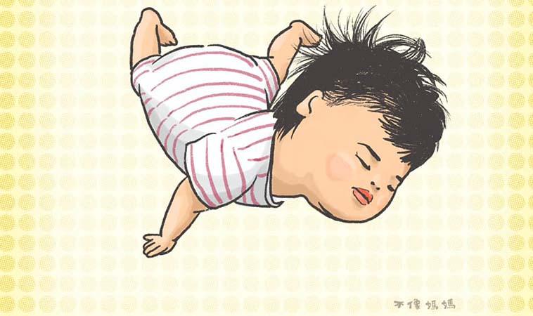 「我好累,先休息一下。」小孩斷電圖畫集錦