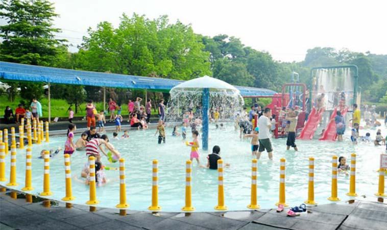 嘉義玩水景點,竹崎親水公園