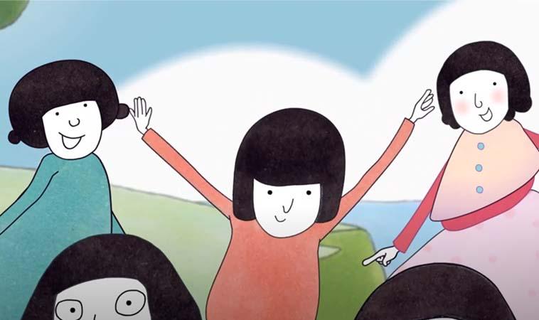 數字手指謠,帶著孩子一起唱歌動一動