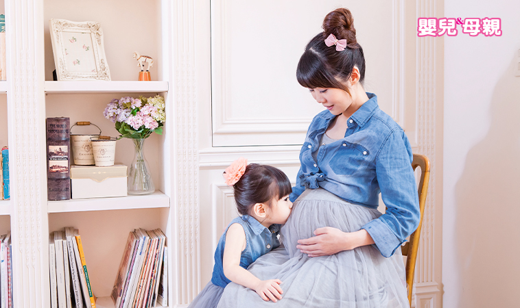 懷孕+同時帶小孩