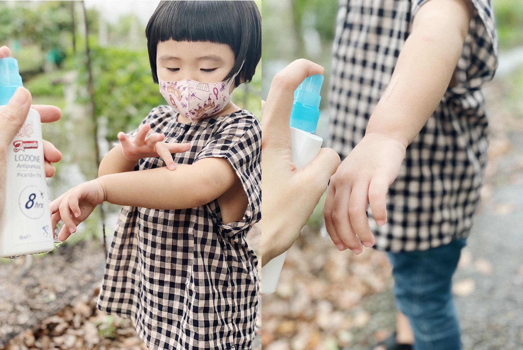 不只要「有效」更要「長效」!叮寧派卡瑞丁防蚊液是守護寶貝的最佳首選