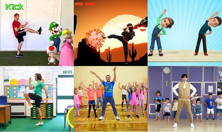 消耗小孩體力!10個超好玩親子運動頻道、APP,讓你在家也能幫小孩放電