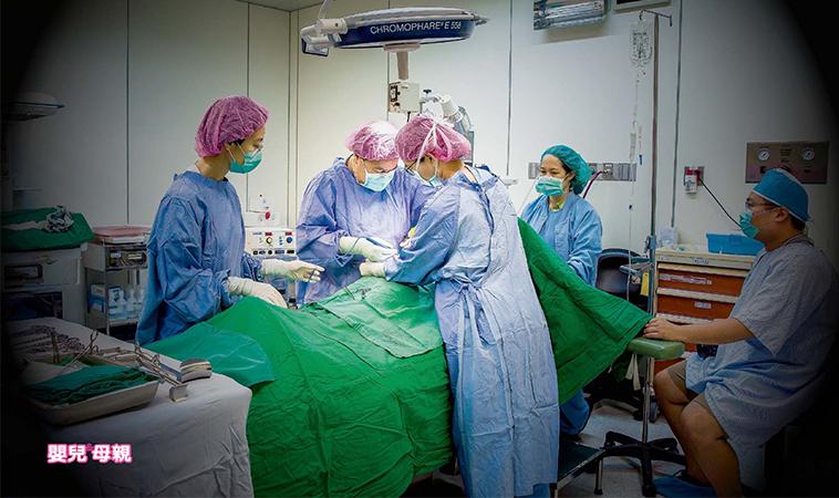 剖腹產現場紀錄全圖解→進入手術室拍攝,真實呈現!