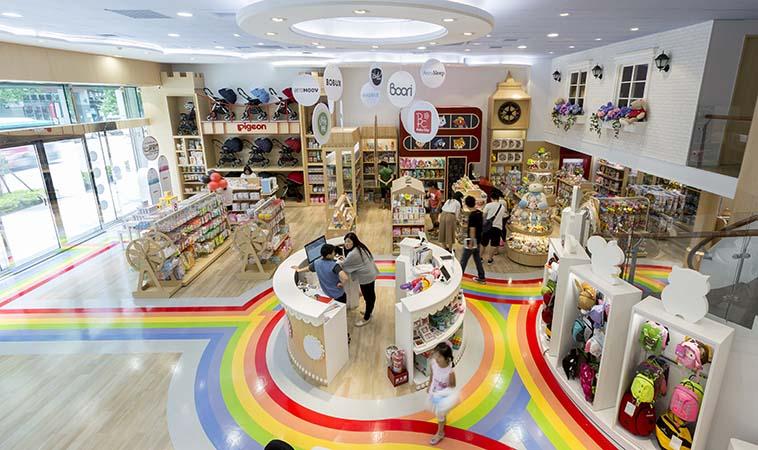 世潮50週年 首家BabyCity旗艦店閃耀登場     孩子們的遊戲城堡‧爸媽的購物天堂