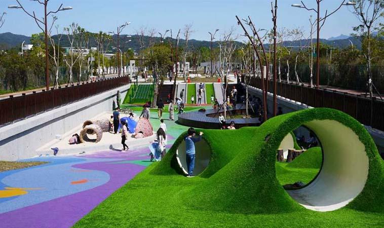 新竹台泥公園,小小孩的新樂園