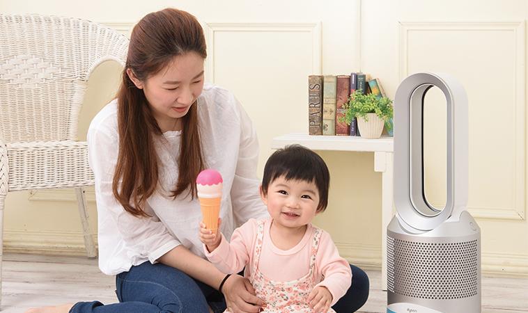 防範寶寶換季過敏,看不見的空氣品質也是關鍵!