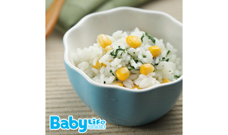 自然鮮嫩的玉米副食品