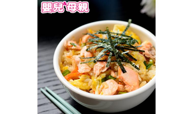 虱目魚燉湯、蔥香鮭魚拌飯