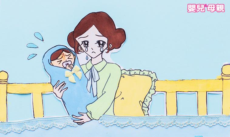 心情很blue?  產後一直哭,我得憂鬱症了嗎?