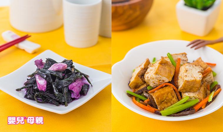 【營養師の私廚料理】素沙茶油豆腐+紅鳳菜炒雞腿