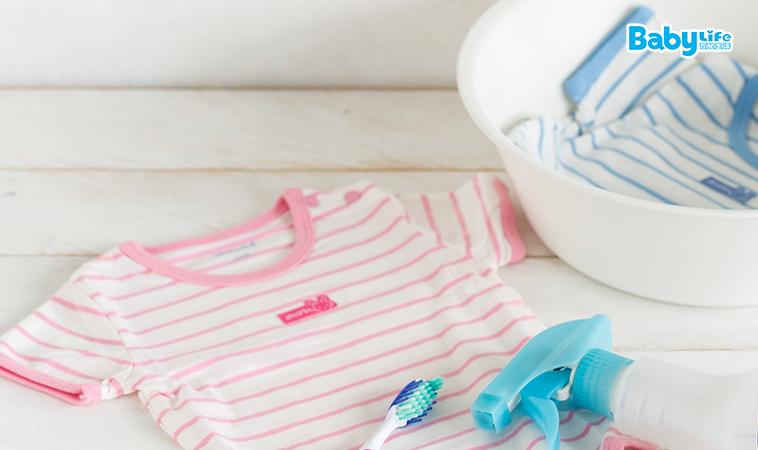 別讓寶寶穿上殘留洗劑!
