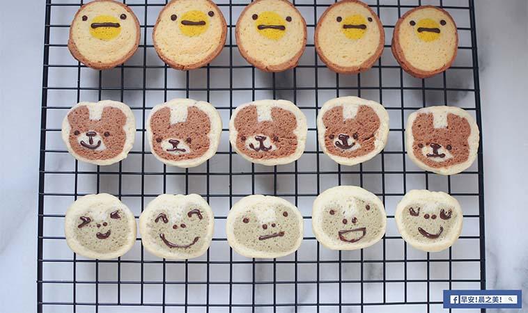 寶寶外帶點心怎麼做?只要五材料就可做創意餅乾