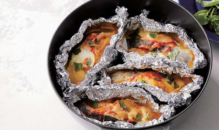 燒烤料理在家輕鬆做,義式起士烤鱈魚
