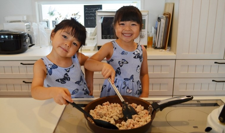 3道親子料理,宅在家也能吃得健康又好玩!