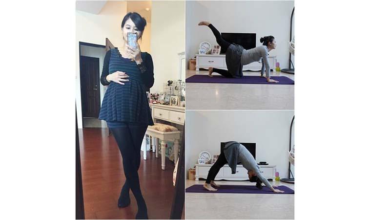 【孕期保養】3招孕婦瑜珈~跟水腫腰痠說ByeBye!