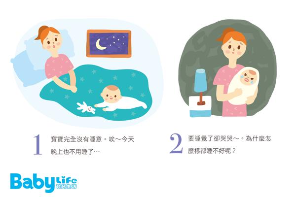 我是好好睡精靈小眠!告訴你寶寶為什麼都不睡覺的理由
