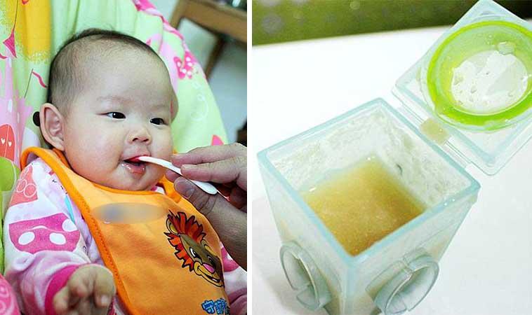 寶寶副食品,蘋果糙米糊