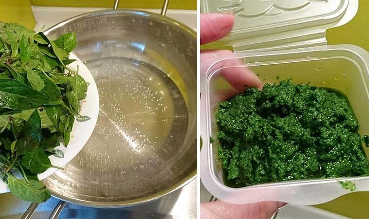 開胃青醬DIY,做義大利麵跟燉飯都好適合