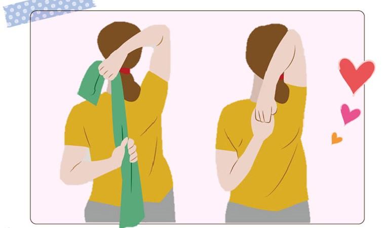 一天一招通氣血!「牛面式」鬆肩頸、消除疲勞腰痛