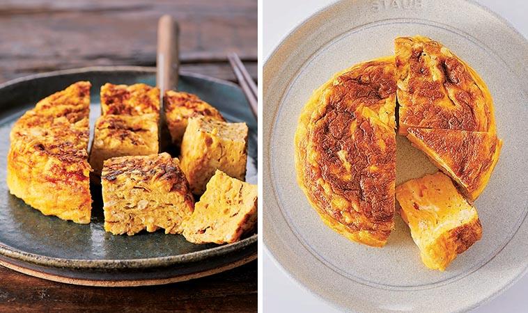 鑄鐵鍋蛋料理,厚蛋燒、歐姆蛋都可以
