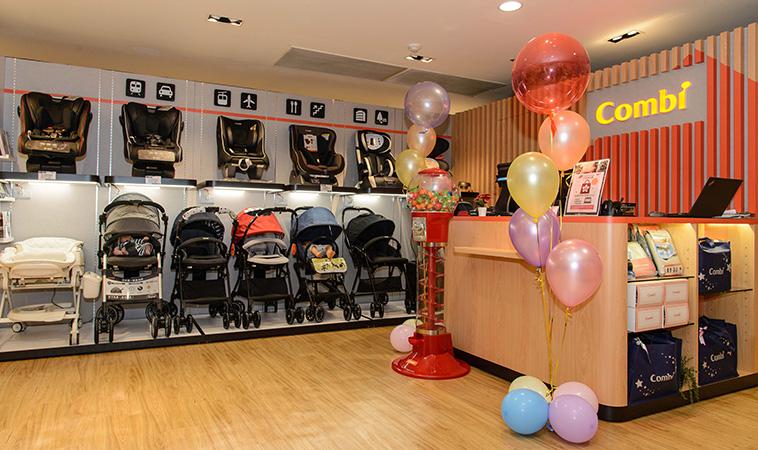 頂級母嬰品牌Combi進駐天母商圈     滿足質感育兒生活