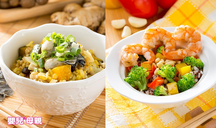 營養師の私廚料理-黃金牡蠣炊飯 堅果藜麥拌飯