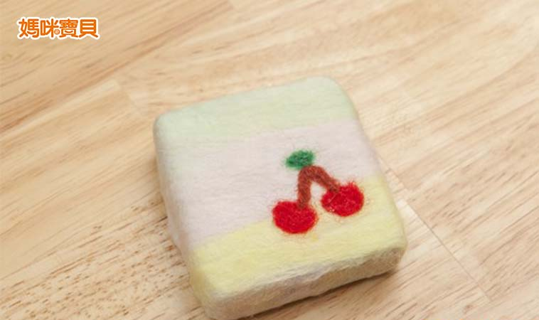 親子手作羊毛氈皂