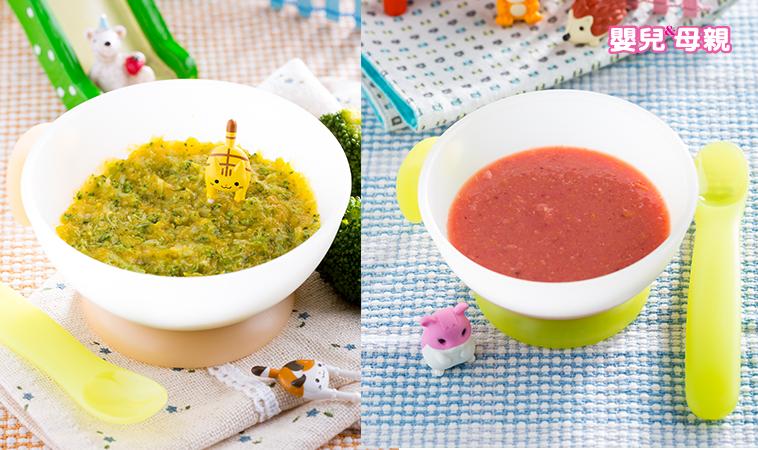 寶寶私房菜:花椰菜南瓜泥、甜菜玉米泥