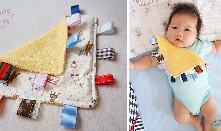 手作安撫巾,充滿媽咪愛心寶寶也喜歡