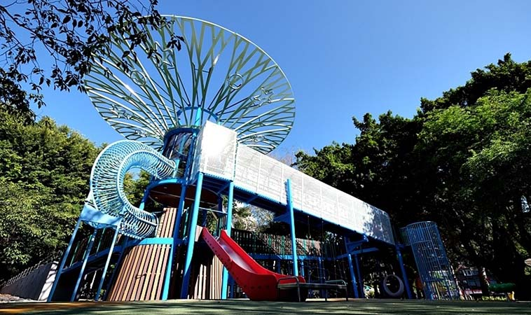 士林前港公園,親子共融遊戲場