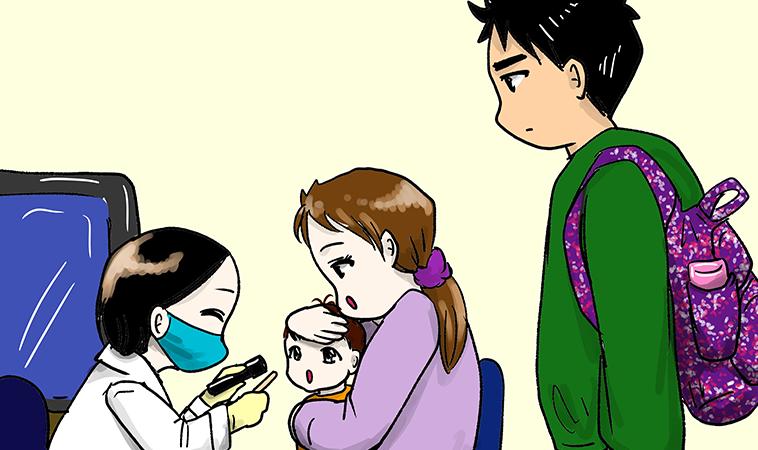 急診女醫師其實‧拿畫筆分享育兒的酸甜苦辣