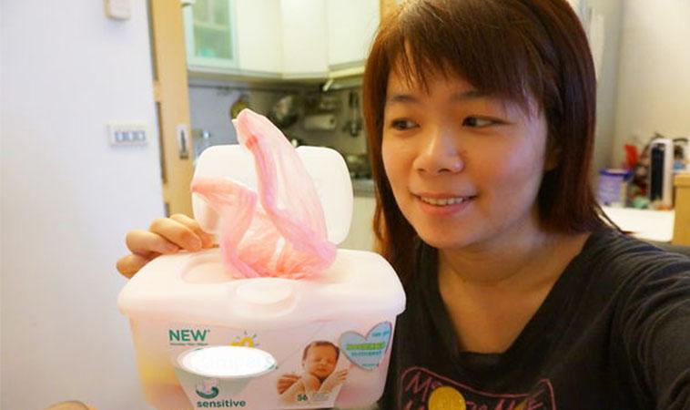 利用濕紙巾盒,自製抽取式塑膠袋