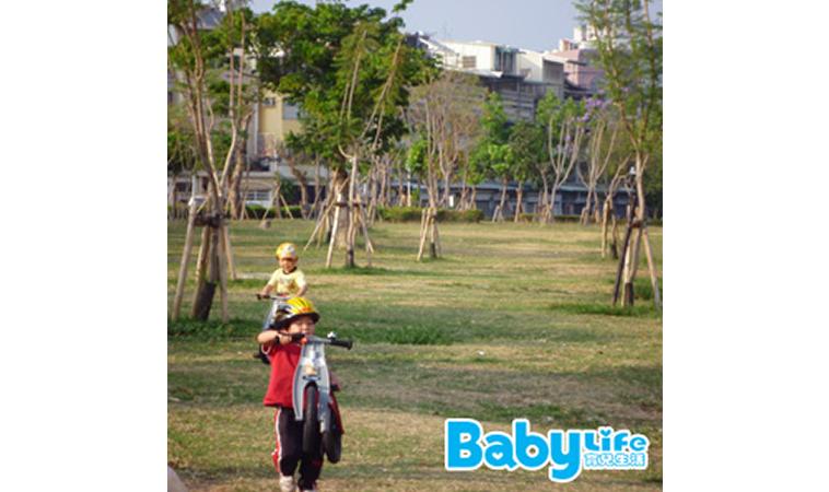 踏出學騎腳踏車的第一步