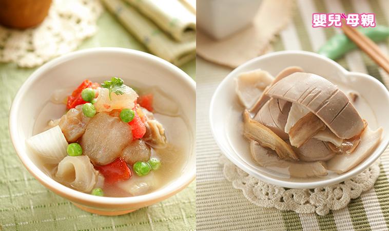 準媽媽私房菜:番茄燉牛筋&麻油炒豬腰