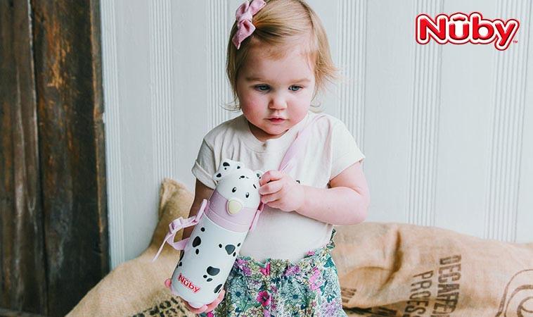 寶寶水杯的專家     Nuby保溫/保冷杯 專為寶寶設計