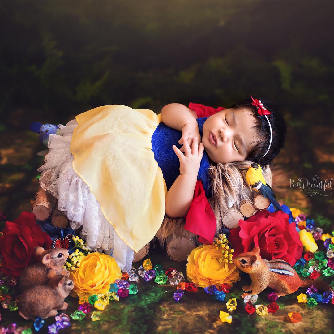 寶寶寫真:白雪公主